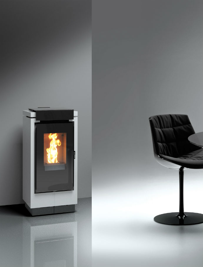 Thermorossi type Mon Amour 7 KW - Wit